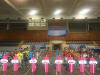 10 đội tham dự giải bóng bàn báo Đảng các tỉnh phía Bắc