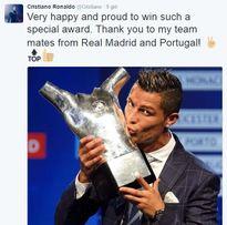 Ronaldo đáp trả Pique
