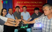 VOV2 chính thức phát sóng trên tần số FM 96.5 tại TP HCM