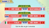 ĐT Futsal Việt Nam sẵn sàng cho Giải vô địch thế giới