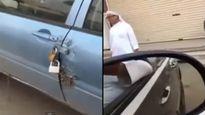 Kiểu khóa ô tô khiến trộm 'khóc thét' của dân chơi Ả Rập