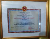 Thiếu úy Phạm Đức Trung được truy tặng Huân chương Bảo vệ Tổ quốc