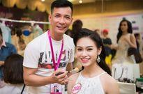Thí sinh Hoa hậu Việt Nam 2016 đẹp rực rỡ trong hậu trường