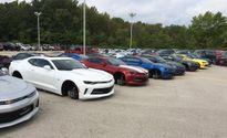 48 chiếc Chevrolet bị trộm bánh xe ở Mỹ