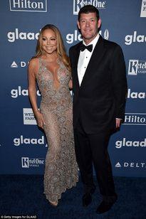 Diva Mariah Carey diện đầm quá sexy, khoe chân '35 triệu đô'