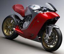 Tung ảnh CG siêu mô tô MV Agusta F4Z Zagato