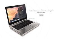 HacBook: chiếc HP EliteBook được cài sẵn OS X, cấu hình như Mac 2013, giá từ 329$