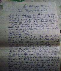 Cựu binh nhịn ăn dành tiền gửi hình mộ chí cho thân nhân liệt sĩ