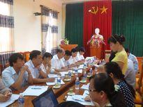 Thanh tra trách nhiệm thủ trưởng tại UBND huyện Thanh Thủy