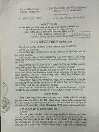 Vụ 8B Lê Trực: Quy hoạch chi tiết 1/500 đã bị bỏ quên!
