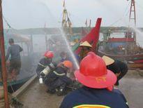 Huấn luyện, diễn tập phòng cháy chữa cháy, cứu nạn cứu hộ tàu cá bị cháy