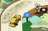 Tình huống kỳ 6: Vào đường cong phải bật xi nhan?