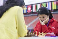 Tuyển nữ cờ vua Việt Nam cầm hòa đối thủ trên cơ Ấn Độ