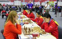 Thắng Thổ Nhĩ Kỳ, cờ vua nữ Việt Nam lên hạng 17 tại Olympiad