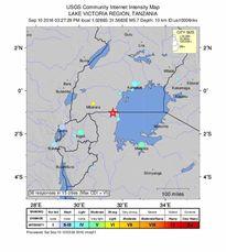 Động đất kinh hoàng ở Tanzania, 10 người thiệt mạng