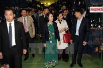 Trưởng Ban Dân vận TW gặp mặt cộng đồng người Việt tại Nga