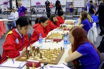 Đội nữ Việt Nam có cơ hội vào Top 10 Olympiad cờ vua thế giới 2016