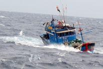 Ngư dân mất tích sau cơn bão số 4