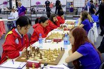 Thắng Estonia, cờ vua nữ Việt Nam lên hạng 9 tại Olympiad