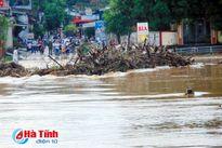 Học sinh nghỉ học vì nước sông Ngàn Phố dâng cao, thủy điện xả lũ
