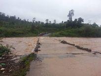 Gia Lai: Hàng nghìn hộ dân bị cô lập do ảnh hưởng bão