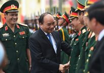 Thủ tướng Nguyễn Xuân Phúc thăm Quân khu 3