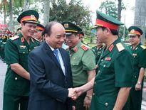 Thủ tướng Nguyễn Xuân Phúc thăm và làm việc tại Quân khu 3