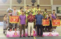 CLB Scorpius đăng quang ở giải Bóng rổ trẻ các CLB Hà Nội 2016