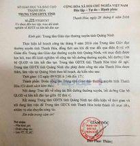Giám đốc trung tâm GDTX Thanh Hóa 'cưỡi' xe biển xanh đi xem chọi trâu