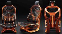 Lexus giới thiệu ghế lái xe hơi kiểu mới mang phong cách người nhện