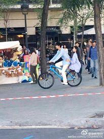 Lee Min Ho và Jeon Ji Hyun hẹn hò bằng... xe đạp tại Tây Ban Nha