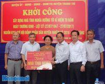 Huyện Thanh Trì: Khởi công xây dựng nhà tình nghĩa cho gia đình chính sách