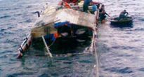 Cứu hộ thành công 2 tàu cá gặp nạn trên biển