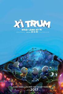 """Trailer """"độc lạ"""" đầy màu sắc của """"Xì Trum"""" phần mới nhất"""