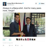 Barca biến Busquets thành tiền vệ trị giá 200 triệu euro