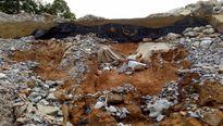 Hà Tĩnh: Kè 43 tỷ hư hại nghiêm trọng chỉ sau trận mưa lớn
