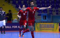 Hạ Paraguay, Iran giành vé vào bán kết FIFA Futsal World Cup