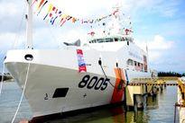 Cảnh sát biển tiếp nhận tàu đa năng 2.400 tấn