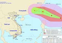 Xuất hiện cơn bão mạnh cấp 14, biển Đông dậy sóng