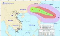 Bão Megi giật trên cấp 14 xuất hiện gần biển Đông