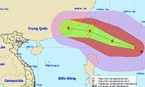 Bão Megi mạnh cấp 14 xuất hiện gần biển Đông