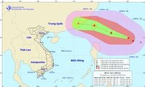 Tin bão mới nhất: Bão MEGI có sức gió siêu mạnh trên biển Đông