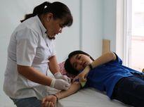 Trường ĐH Kiên Giang đóng góp 300 đơn vị máu