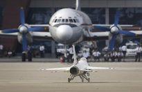 F-16 xuất hiện tại triển lãm hàng không Triều Tiên