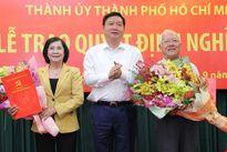 Trao quyết định nghỉ hưu cho nguyên Chủ tịch UBND TP.HCM