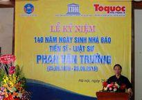 Tôn vinh vị Tiến sĩ Luật học đầu tiên của Việt Nam