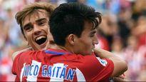 Griezmann tỏa sáng, Atletico đuổi sát Real và Barca