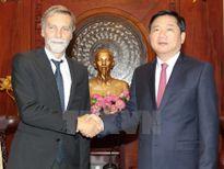 TP Hồ Chí Minh sẵn sàng tăng cường hợp tác với doanh nghiệp Italy