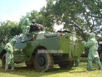 Khám phá dàn khí tài của Trường Sĩ quan Phòng hóa Việt Nam