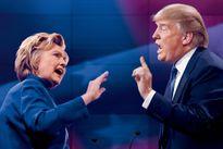 """Trận """"so găng"""" lịch sử giữa bà Clinton và ông Trump"""
